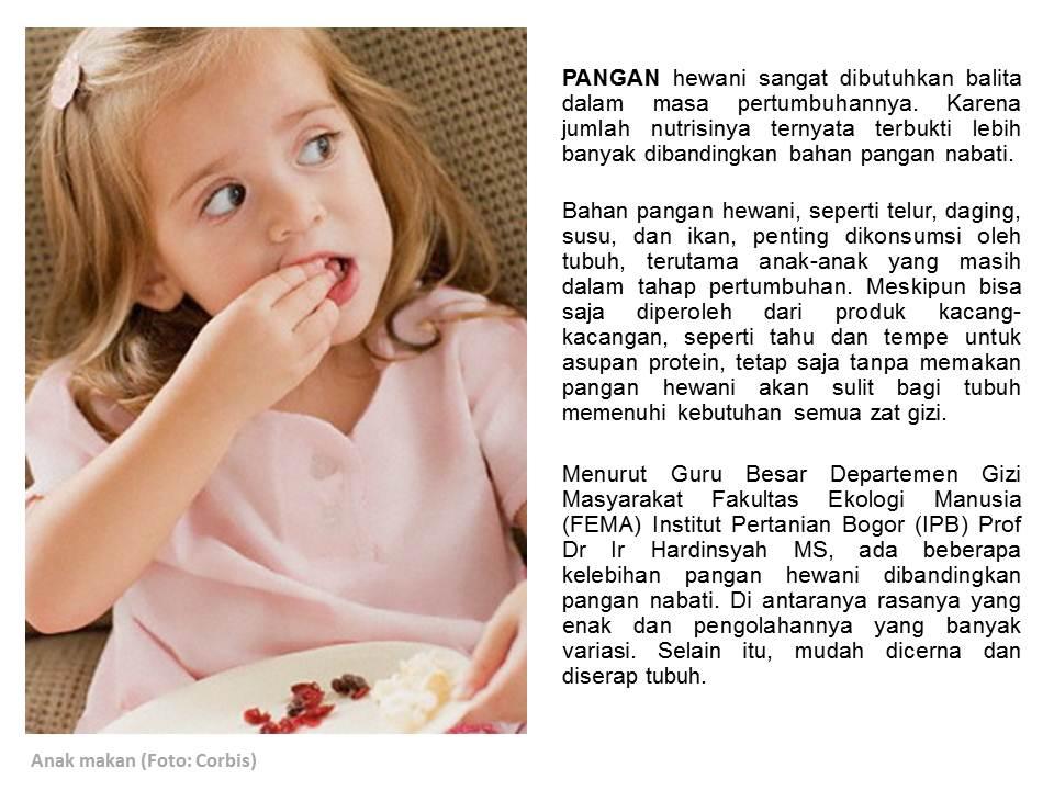 Protein Hewani Pendukung Pertumbuhan Pergizi Pangan Indonesia