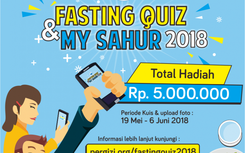 FASTING QUIZ DAN MY SAHUR 2018