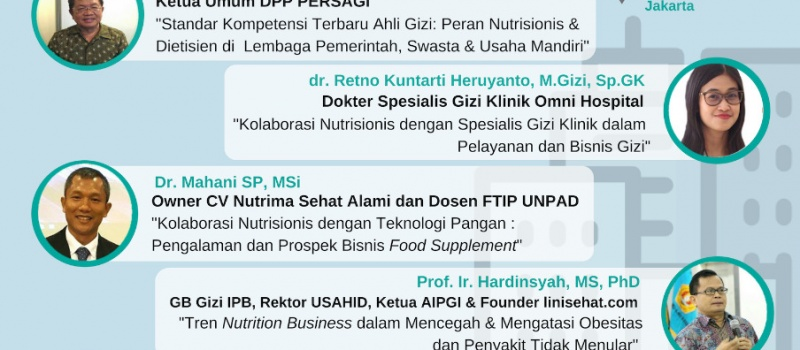 "Seminar ""Roles of Nutritionists & Dietitians and Prospects for Nutrition Business in Millenium Era"""