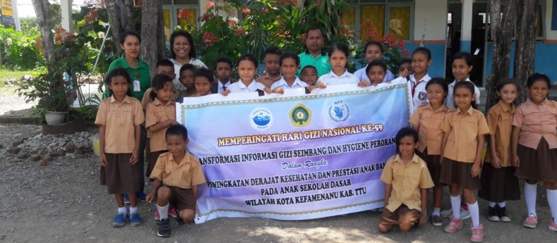 Kegiatan Edukasi Gizi oleh DPD PERGIZI PANGAN NTT