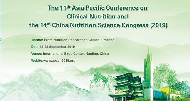 Asia Pasific Conference on Clinical Nutrition 2019