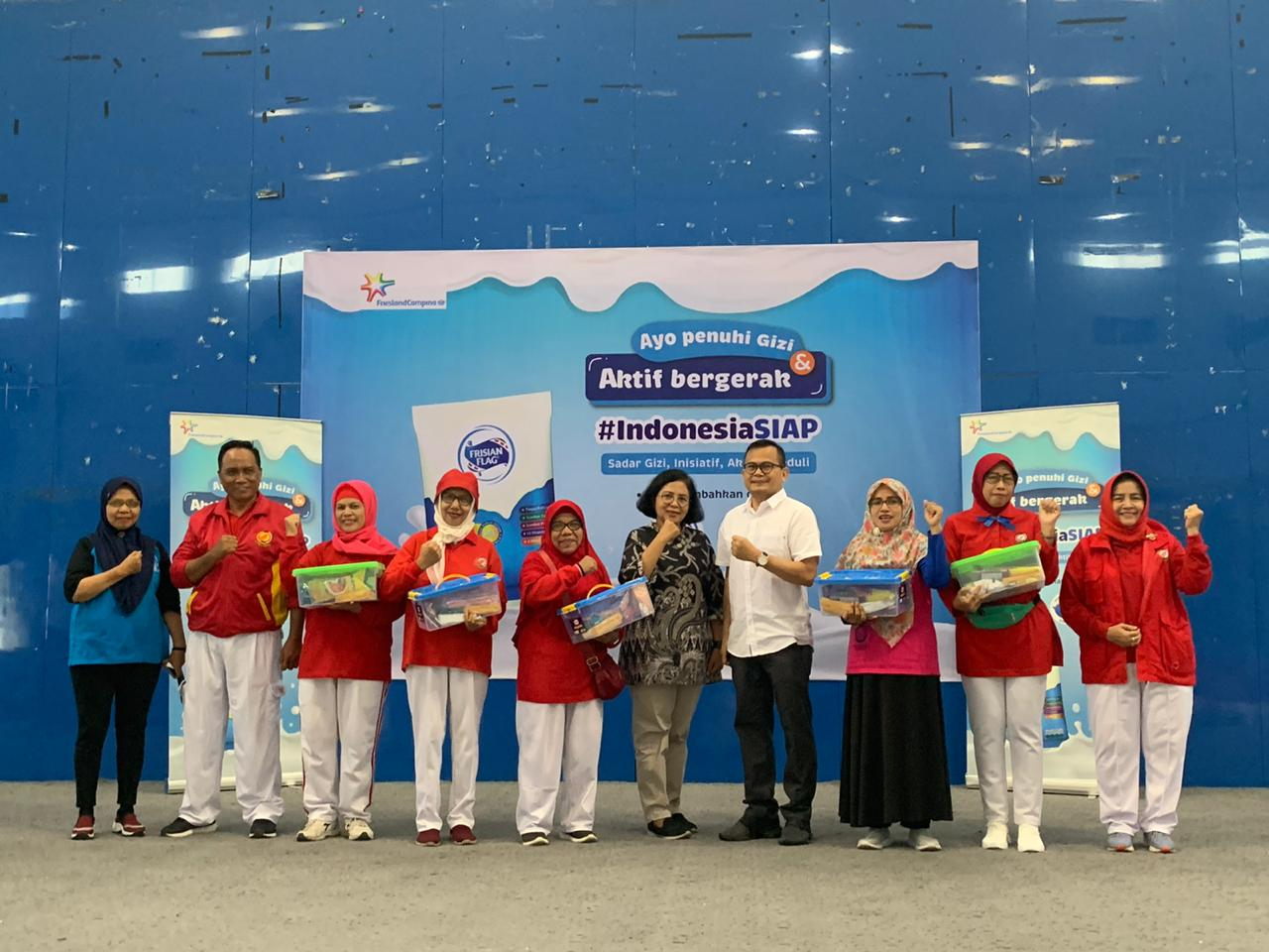 Edukasi Gizi Seimbang #IndonesiaSIAP
