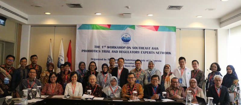 1st WORKSHOP ON SOUTHEAST ASIA PROBIOTICS SCIENTIFIC AND REGULATORY EXPERTS NETWORK