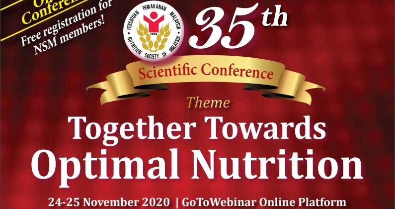 Nutrition Society of Malaysia (NSM) Conference 24-25 Nov 2020