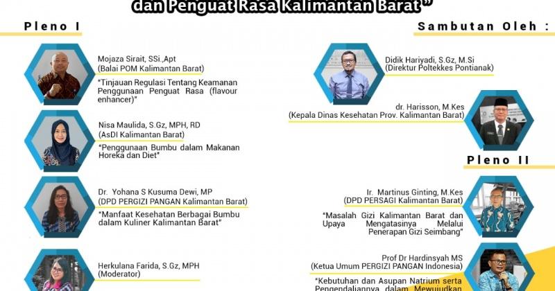 Keamanan dan Manfaat Kesehatan Bumbu dan Penguat Rasa edisi Kalimantan Barat