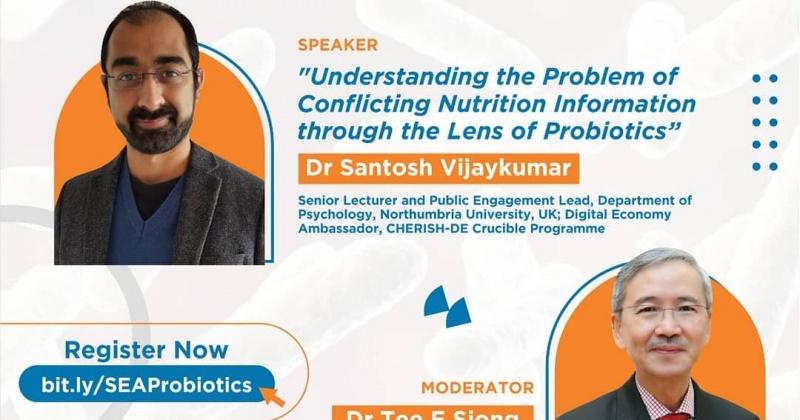 A Special Guest Lecture of Southeast Asia Probiotics Scientific and Regulatory Experts Network (SEA PROBIOTICS SREN)