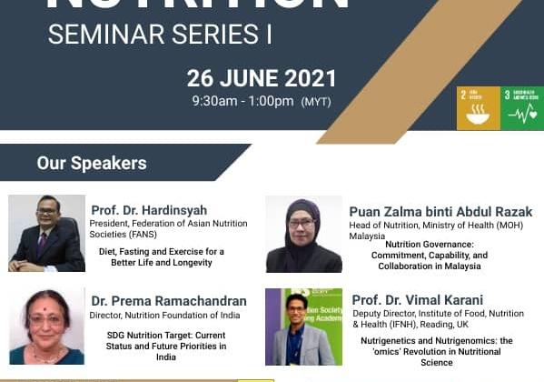 Nutrition Seminar Series 1