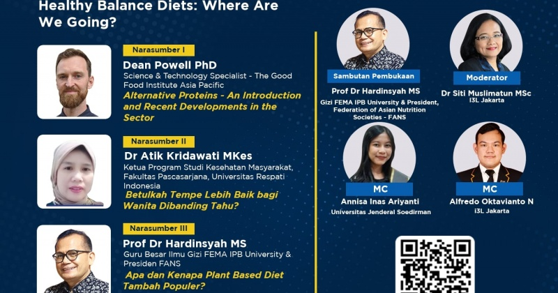 Future Protein Foods and Healthy Balance Diets: Where Are We Going?